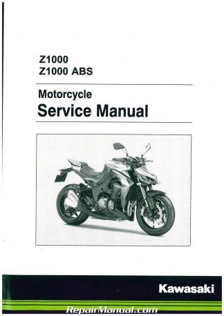 99924-1454-05 2012-2016 Kawasaki EX650 Ninja 650 Motorcycle Service Manual