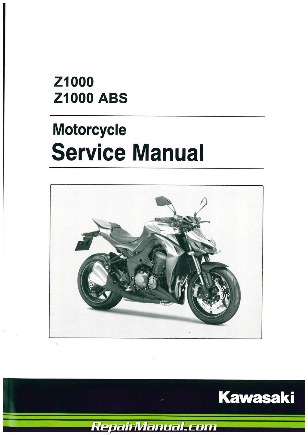 2014   Abs Motorcycle Service Manual