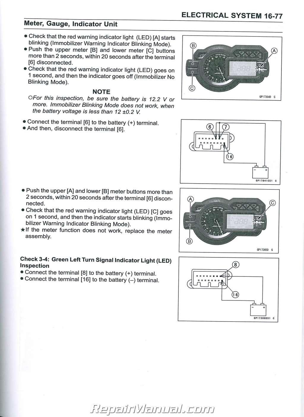 2015 Kawasaki Versys 1000 Klz1000 Motorcycle Service Manual