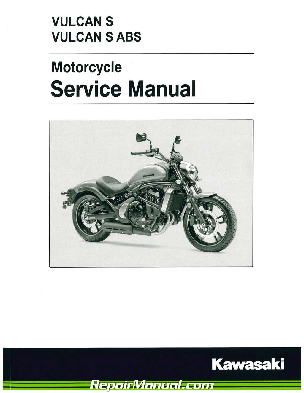 2015 2016 kawasaki en650 vulcan s abs motorcycle service manual rh repairmanual com kawasaki shop manual download kawasaki shop manual download