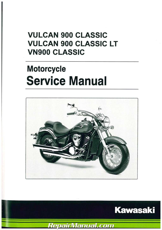 Amazon. Com: kawasaki vulcan 900 classic custom service repair.