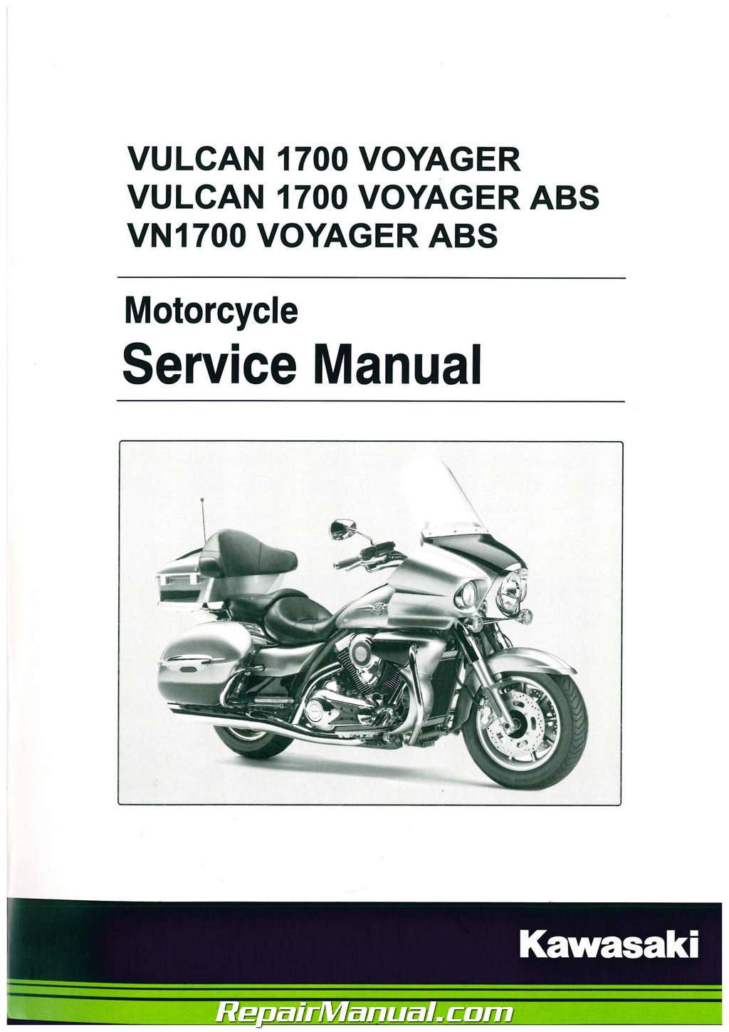 Manual Service Vn 1700 on