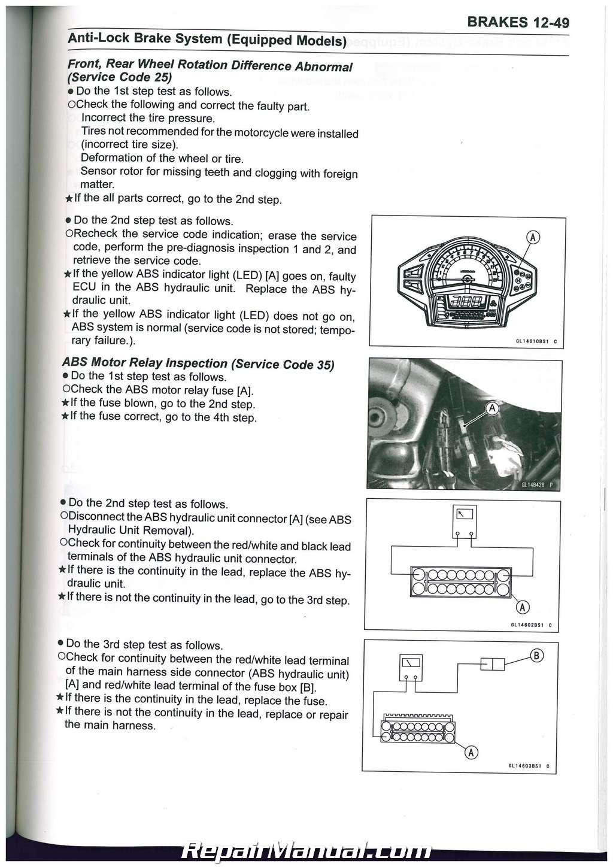 Ninja 650 Fuse Box Wiring Library Motorcycle Replacement 2012 2016 Kawasaki Ex650 Service Manual