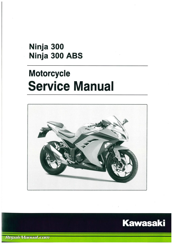 2013 2017 kawasaki ninja ex300a b motorcycle service manual rh repairmanual com www Ninja 300 Ninja 300 First Ride