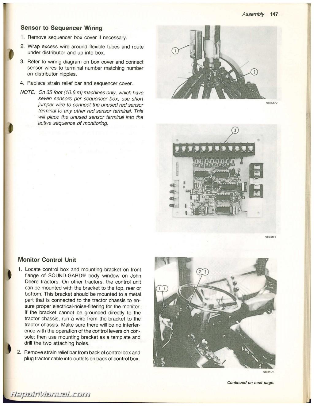 665 John Deere Operator Manual 820 Wiring Diagram Page 5