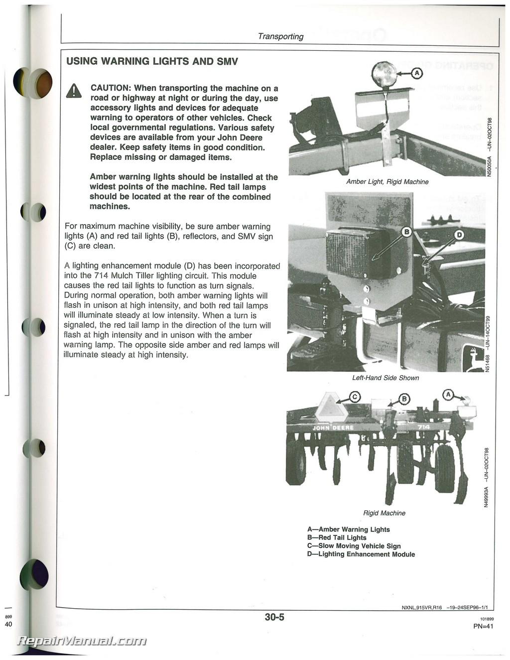 john deere 44 loader manual