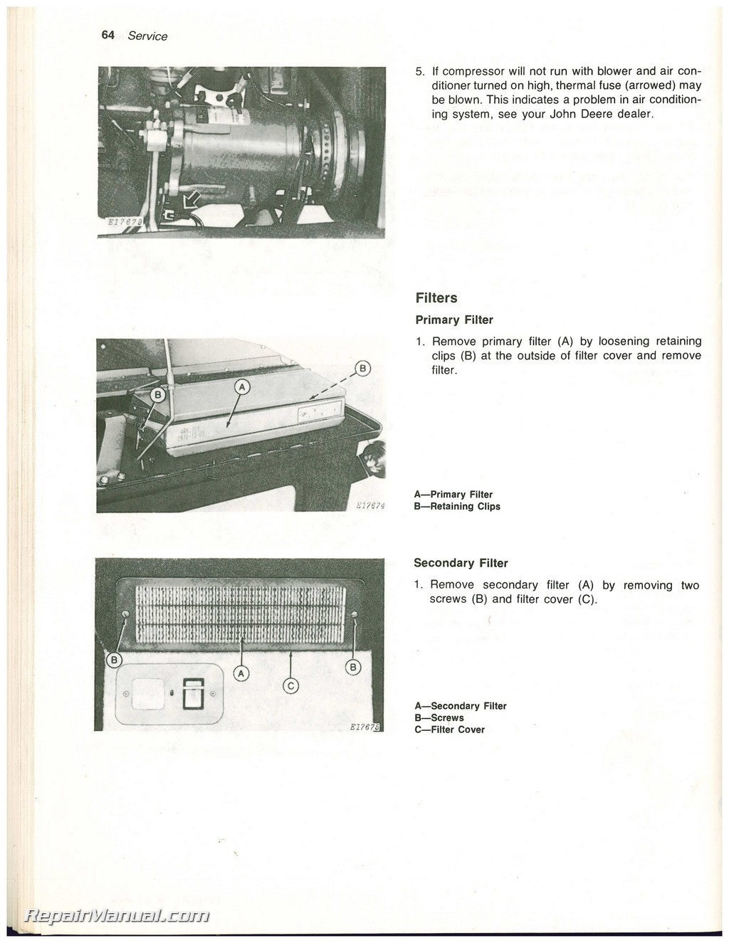 2320 John Deere Fuse Box Worksheet And Wiring Diagram 2005 3120 Used 2420 Self Propelled Windrowers Operators Manual Rh Repairmanual Com On 4450