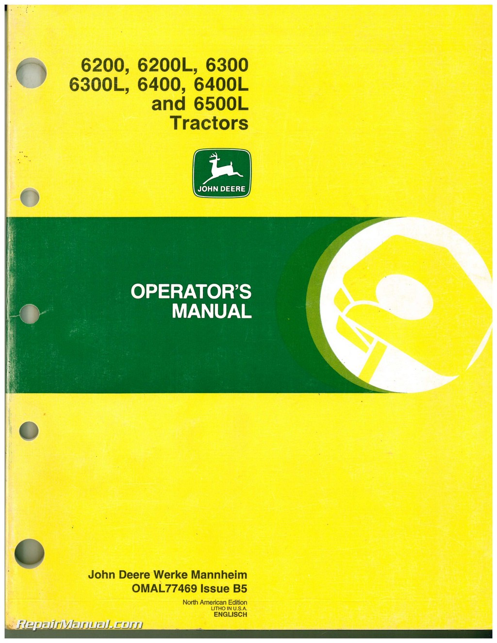 Jd 6300 Wiring Diagram Schemes John Deere 4020 Tractor Used 6200 6200l 6300l 6400 6400l And 6500l Rh Repairmanual Com 4010