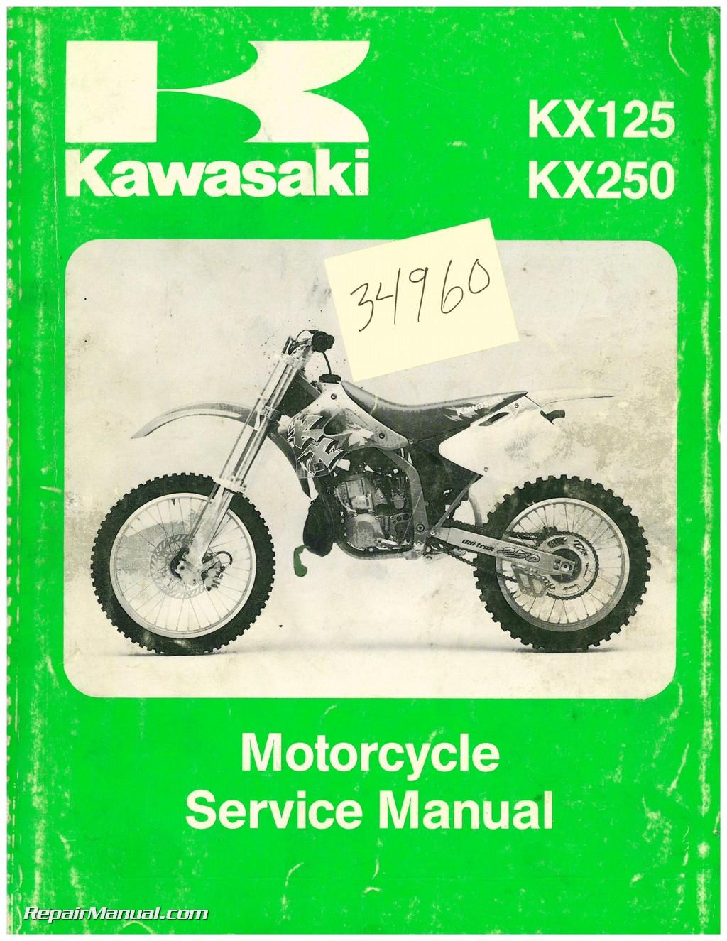 kawasaki kx kx service manual