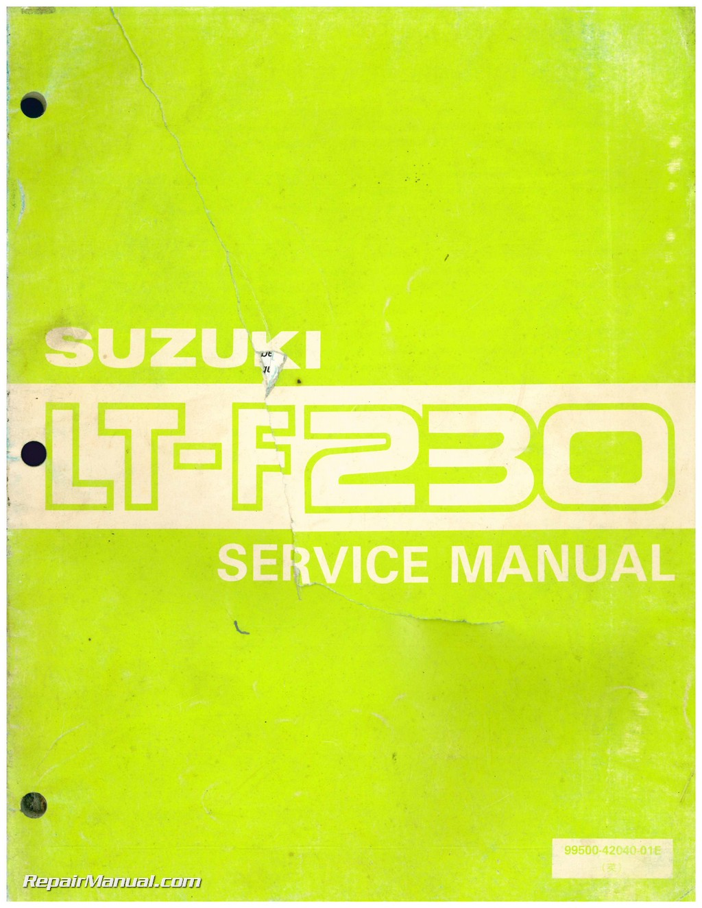 used 1986 suzuki lt f230 atv service manual 1984 suzuki lt 125 service manual pdf Suzuki 125 Quad