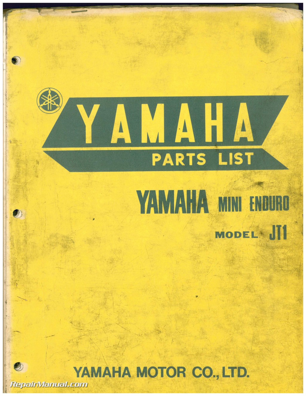 Yamaha Jt1 Wiring Diagram Layout Diagrams Dt 125 Mx 1971 Mini Enduro 60cc Two Stroke Motorcycle Parts Manual Rh Repairmanual Com
