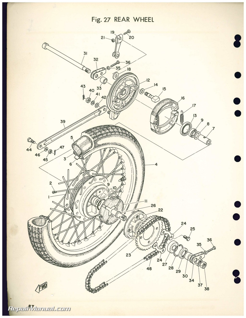 Used 1972 yamaha cs5 200cc motorcycle parts manual for New yamaha motorcycle parts