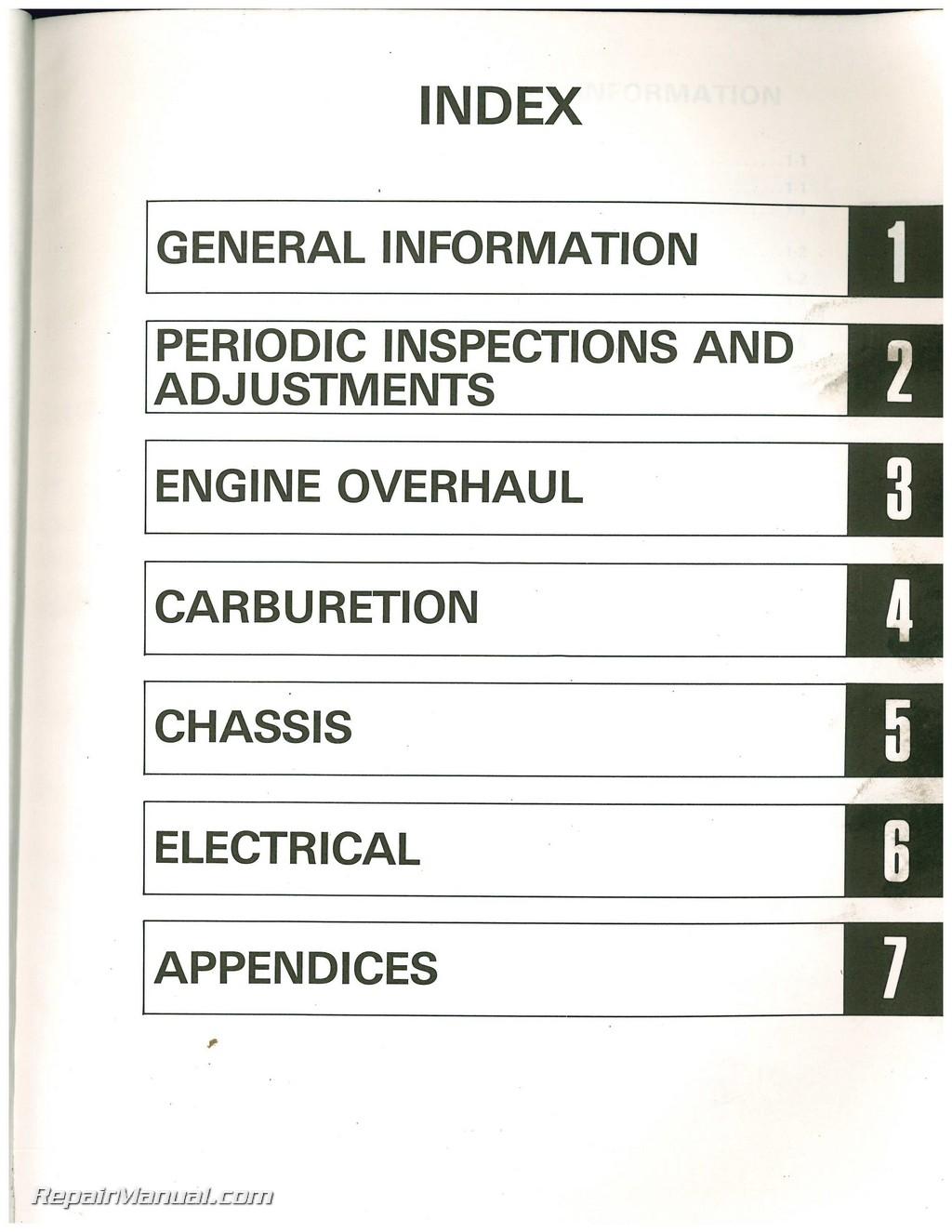 1983 yamaha xv500k virago motorcycle service manual yamaha g1 wiring harness diagram yamaha xv500k color wiring schematic #21
