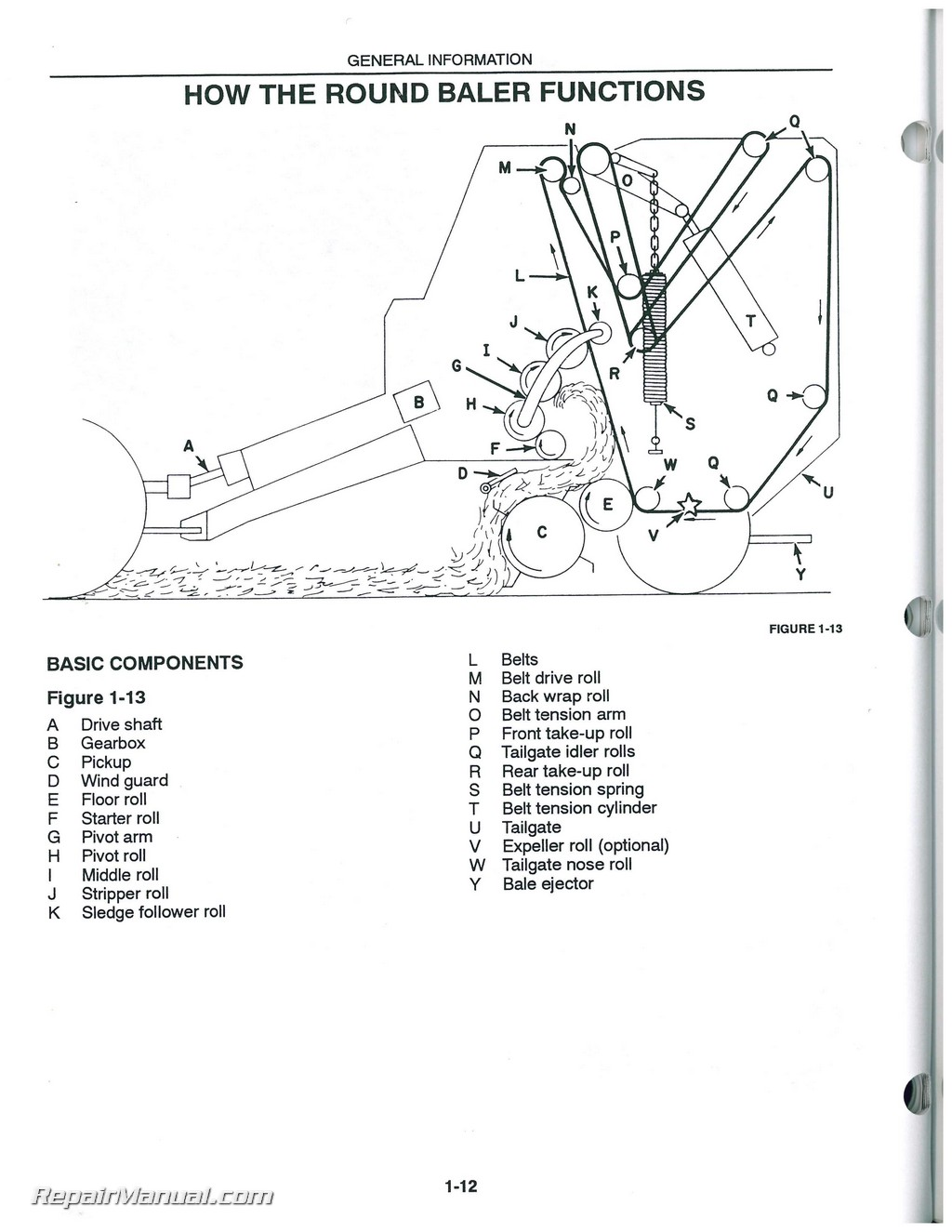 Steel Pipe Friction Loss Chart in addition Transmission Drive Belt M152284 in addition Grounding A Plastic Gas Tank also John Deere Ignition Switch Diagram additionally Used New Holland 640 650 660 Round Baler Operators Manual. on john deere water