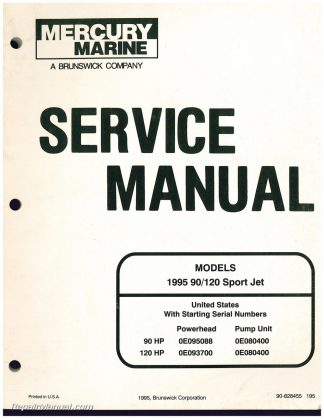 used 1995 mercury 90 120 sport jet engine service manual rh repairmanual com mercury sport jet service manual mercury sport jet repair manual