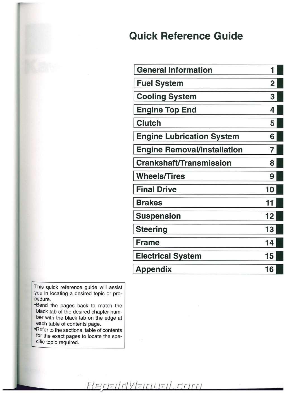 Zzr Owners Manual Clark Gcx25 Wiring Diagram 1993 Array Kawasaki 2000 2002 Zx600j 2005 2008 Zzr600 Motorcycle Service Rh Repairmanual
