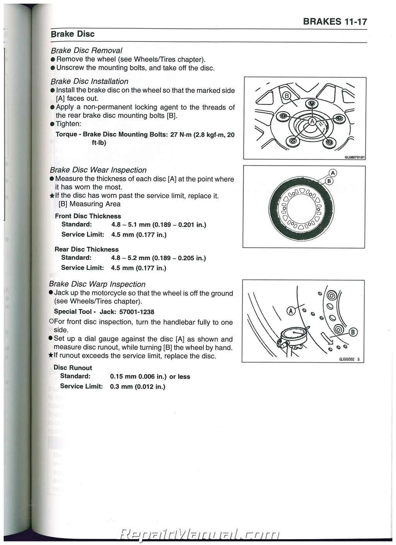 Kawasaki 2007 zzr600 manual