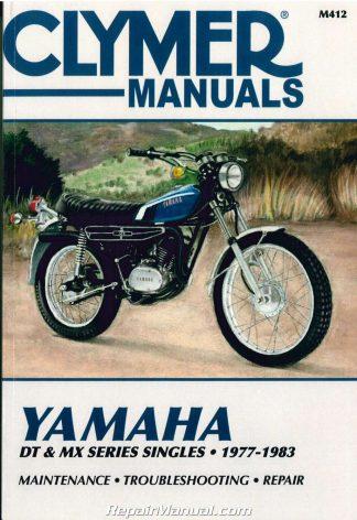 1977 - 1983 Yamaha DT 100 125 175 250 400 MX100 175 Clymer Motorcycle Yamaha Dt Enduro Motorcycle Wiring Schematics Diagram on