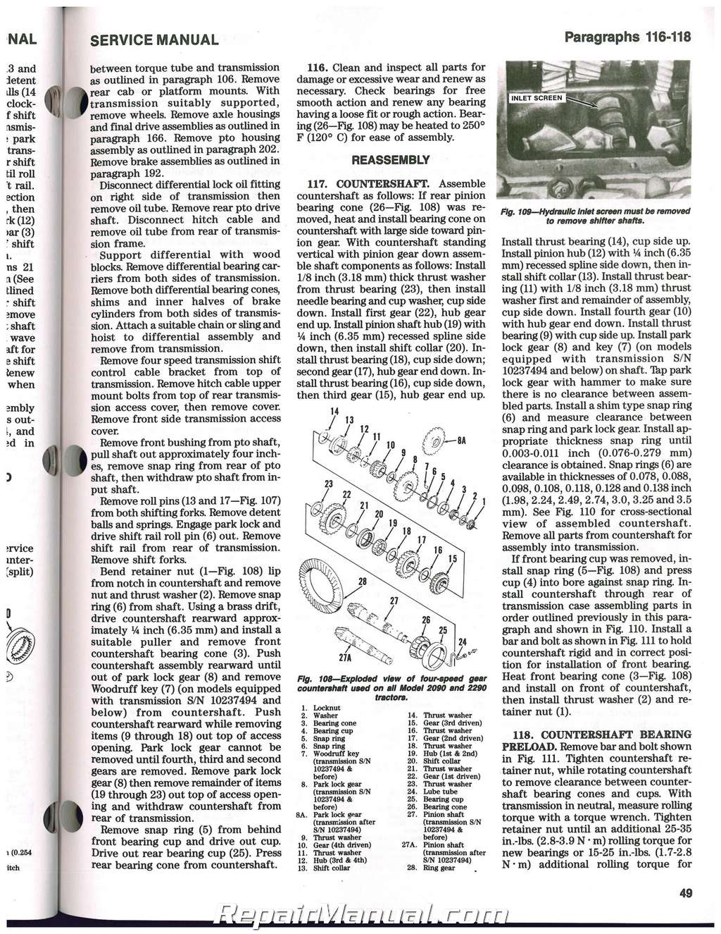 Doc on 2390 Case Tractor Wiring Diagram