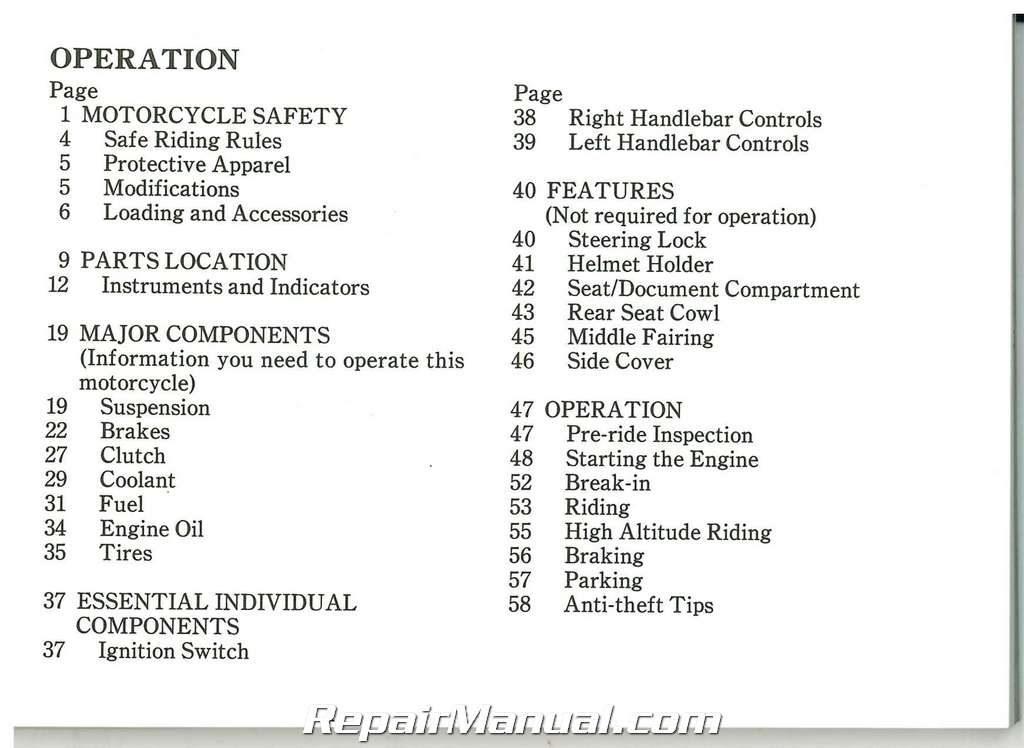 honda vfr 750 manual pdf