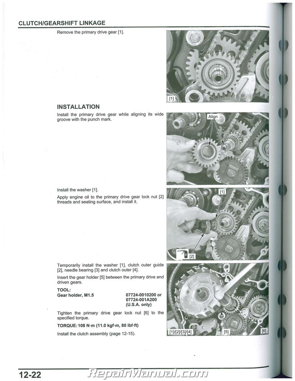 honda cbrr service manual motorcycle