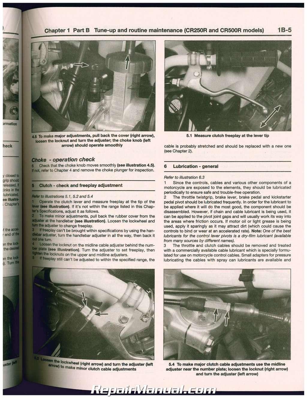1988 Cr80 Manual
