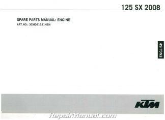 1986 1987 ktm 350 mxc 350 gs 500 mx 500 mxc owners repair
