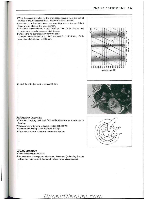 1990 2004 Kawasaki Kaf300a Mule 500 520 550 Utv Service Manual Ignition Wiring Diagram