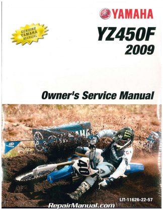 yamaha yz450f 2003 service manual