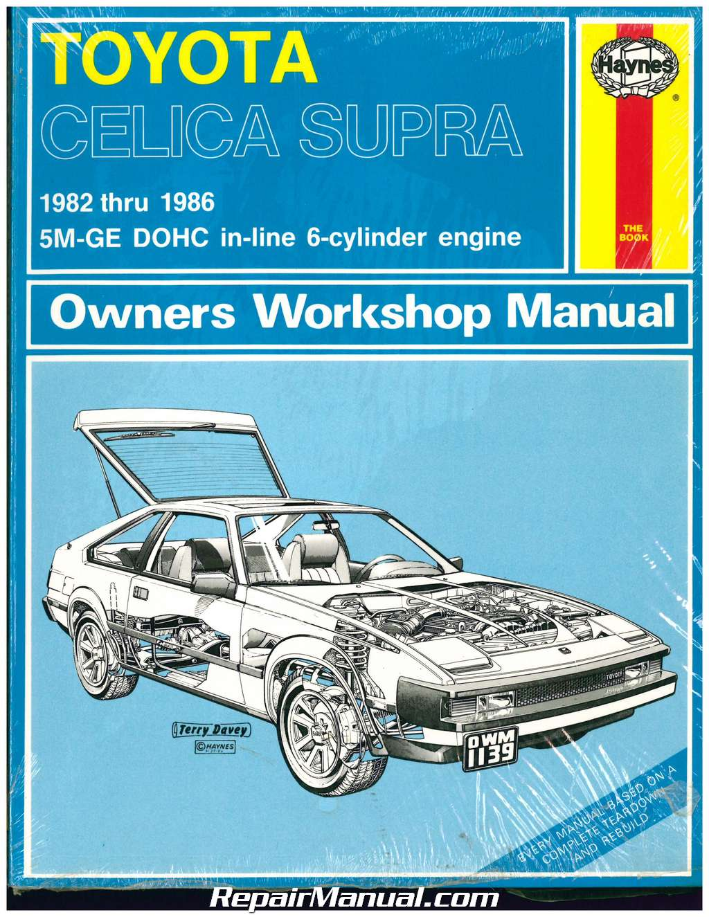 Haynes Toyota Celica Supra 1982 1986 Auto Repair Manual Wiring Diagram 1984