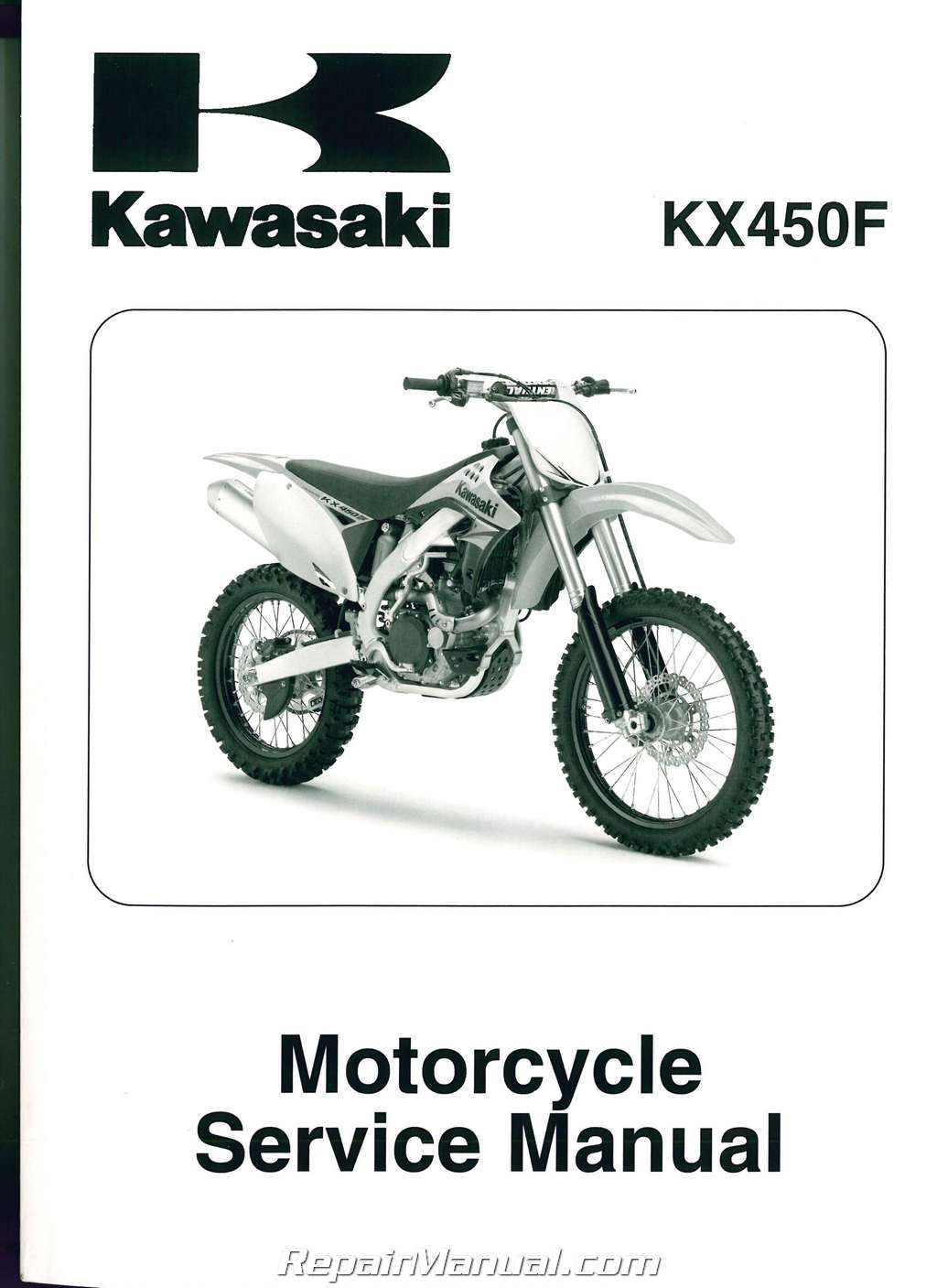 2009 2011 kawasaki kx450f motorcycle service manual rh repairmanual com 2013 kx450f service manual download kx450f service manual 2016
