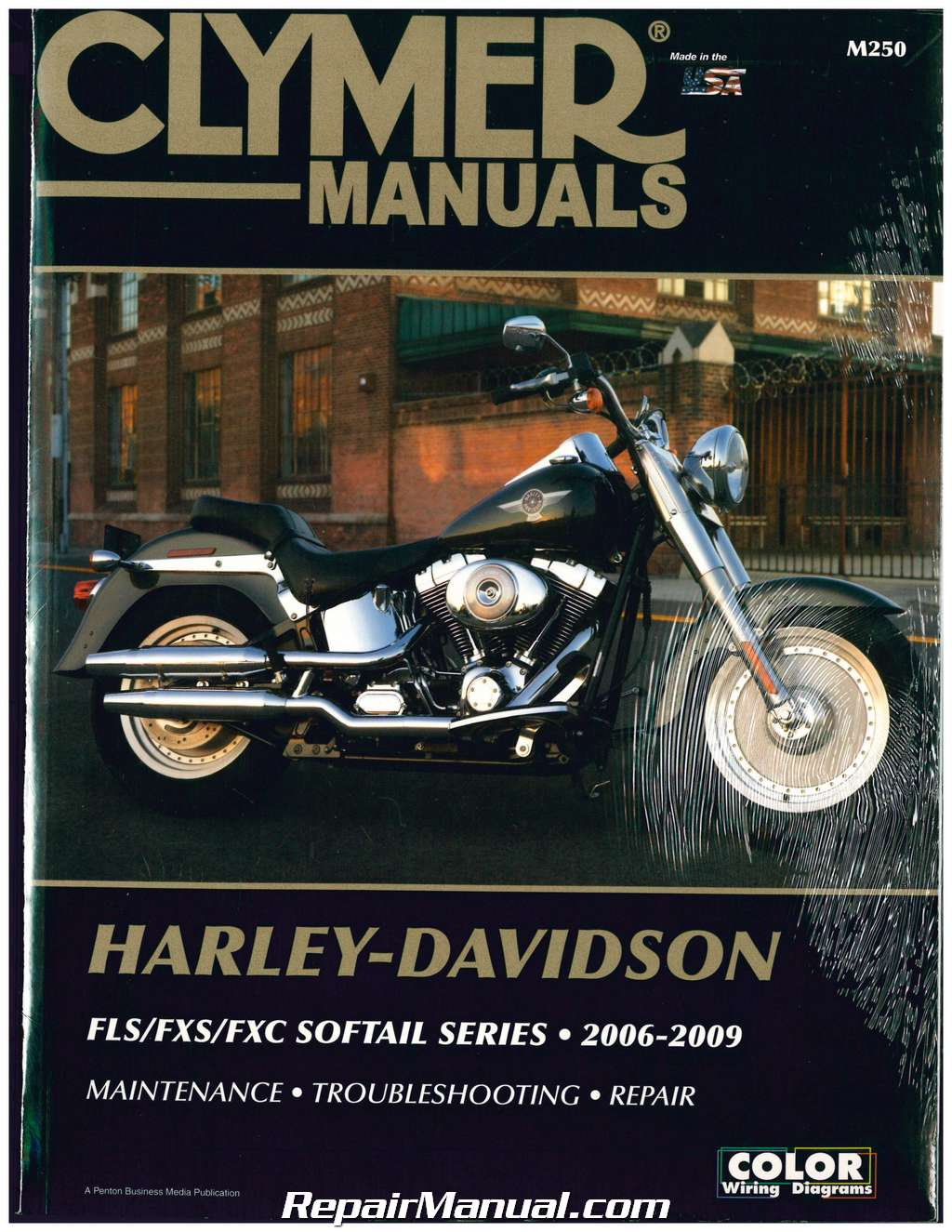 Clymer Harley Davidson Softail FLS FXS FXC Motorcycle Repair Manual  2006-2009