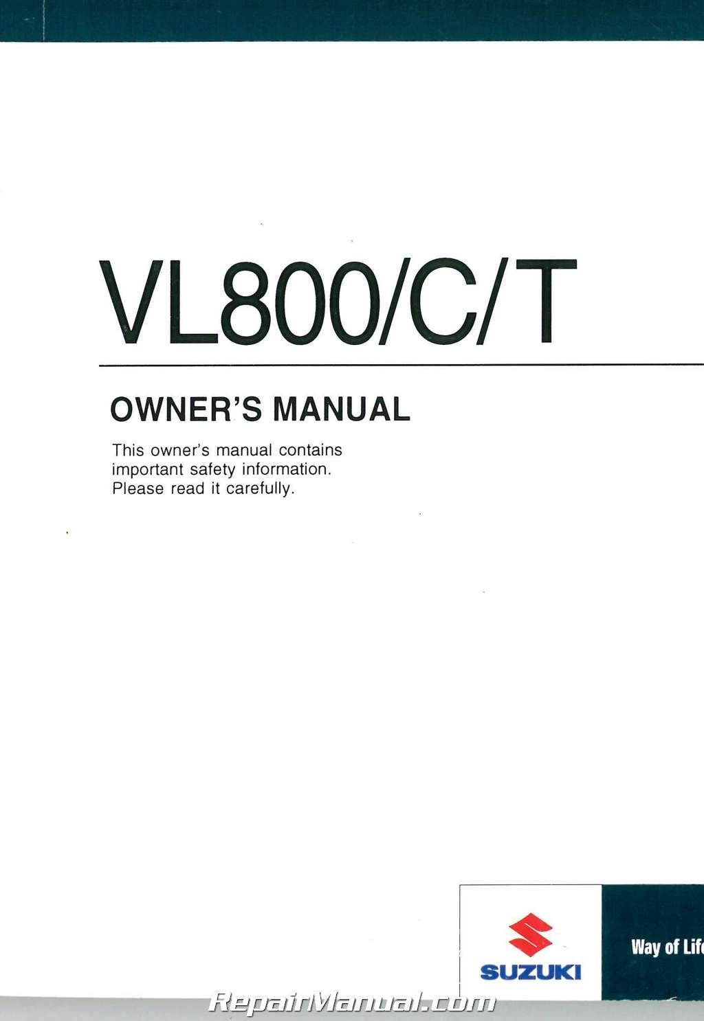 suzuki boulevard c50 repair manual