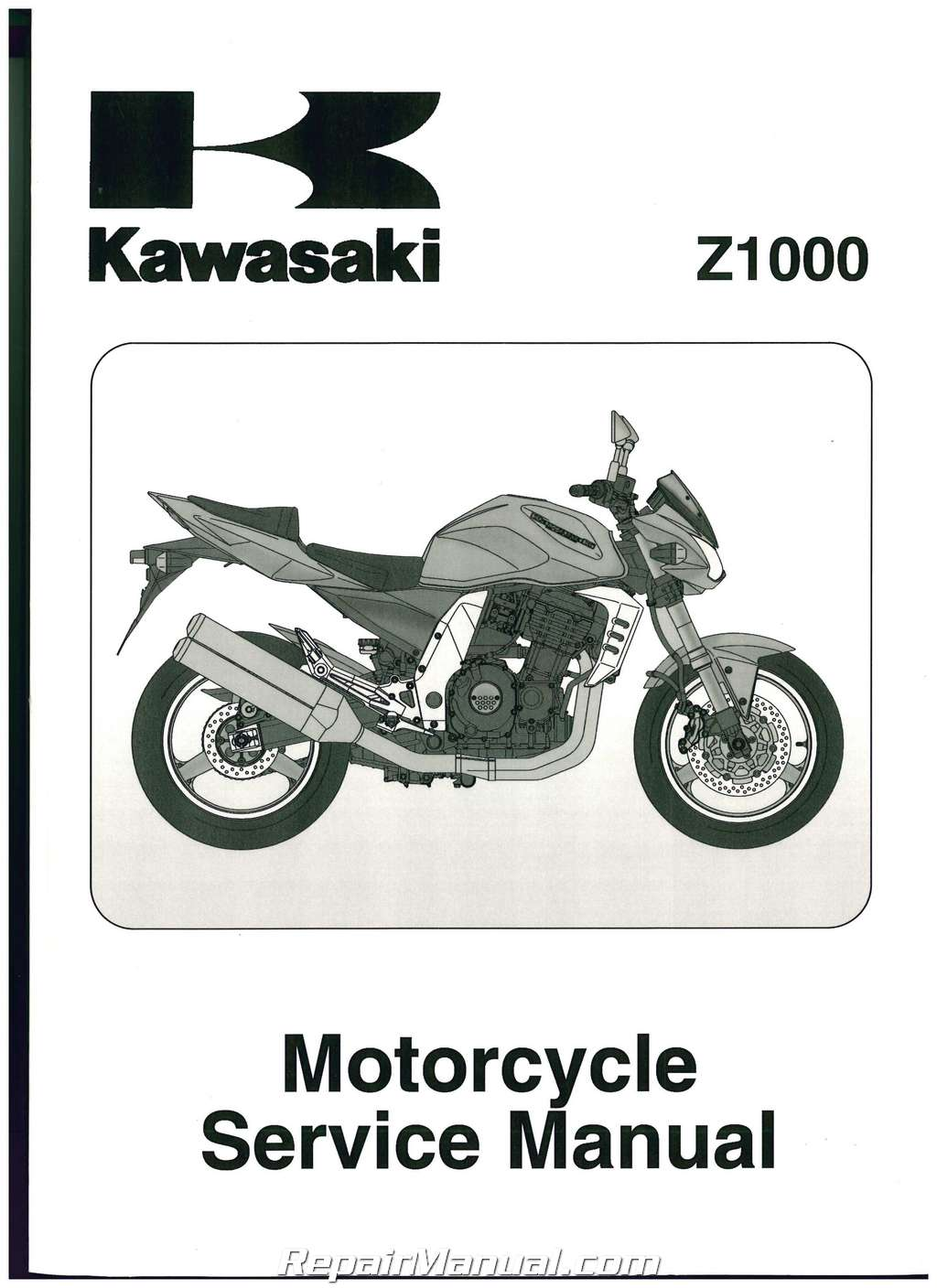 ... 2003-2006 Kawasaki ZR1000A Z1000 Service Manual. Sale!  doc01111520151222154009_001