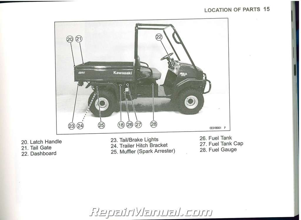 2007 kawasaki kaf950 b5 mule 3010 diesel owners manual. Black Bedroom Furniture Sets. Home Design Ideas