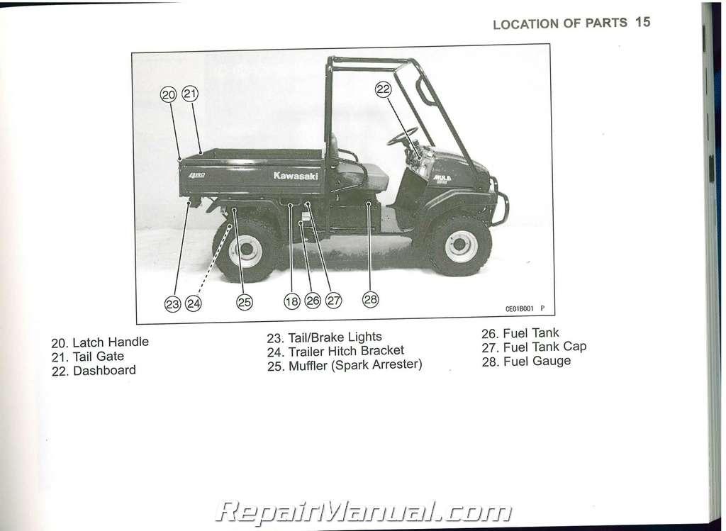 Kawasaki Fr730v owners manual