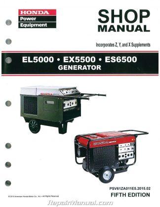 Doc X on Honda Es6500 Generator Service Manual