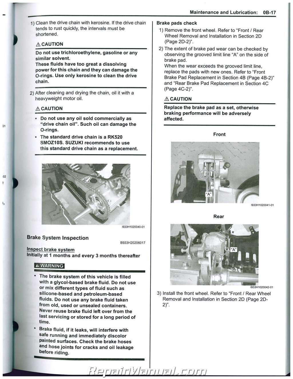 Suzuki Quadsport Z400 Wiring Diagram Get Free Image About Wiring
