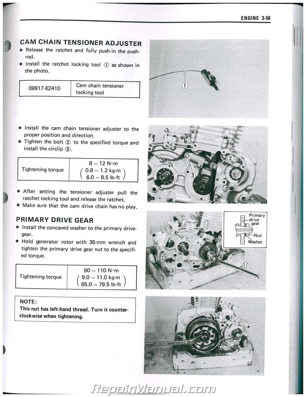 LS650 Savage / S40 Boulevard 1986-2016 Suzuki Motorcycle Service Manual