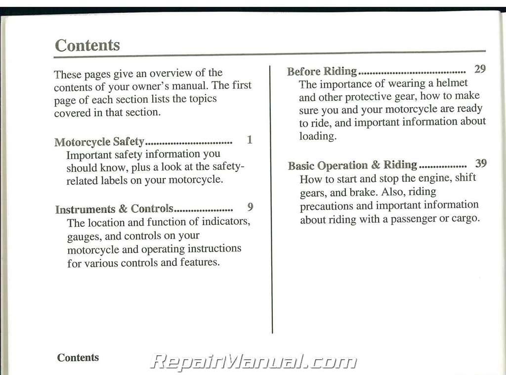 2010 honda stateline owners manual