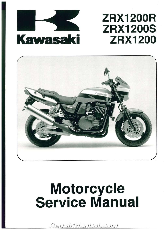 Used Motorcycles Dealers >> 2001-2008 Kawasaki ZRX1200R Motorcycle Service Manual