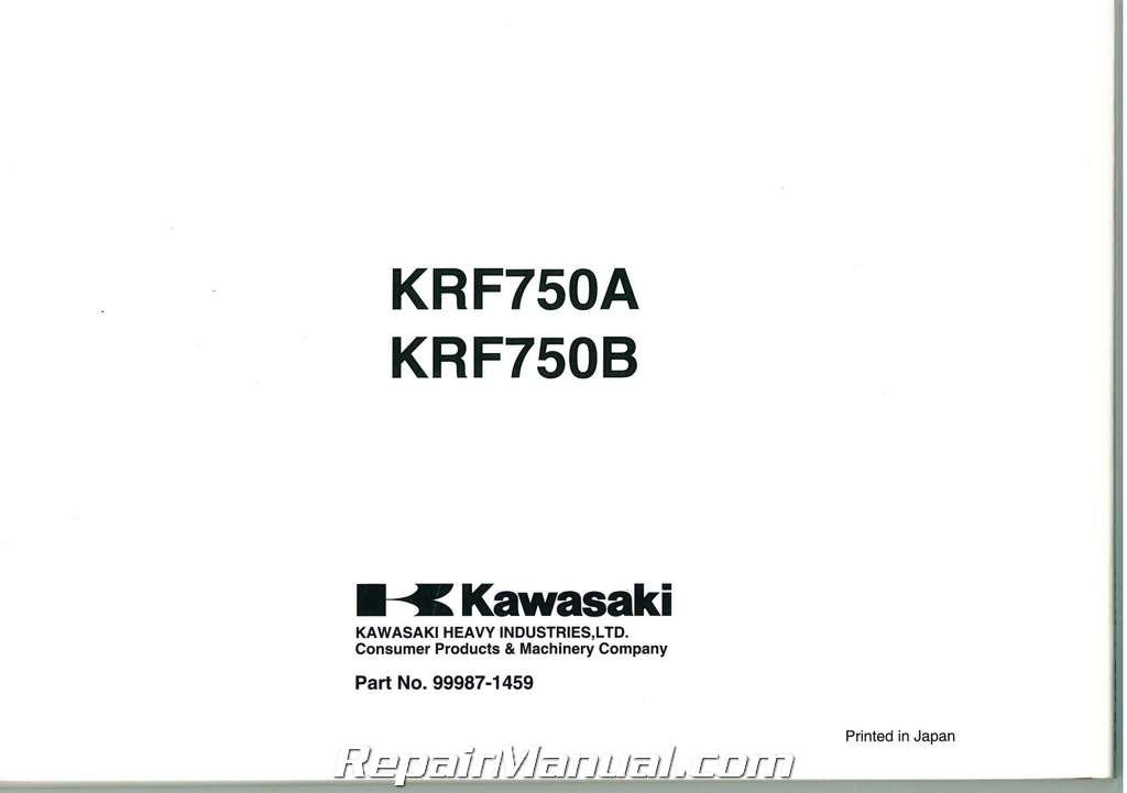 2008 kawasaki teryx 750 manual