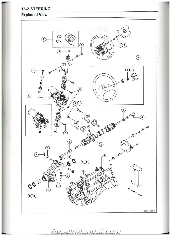 2009  U2013 2017 Kawasaki Kaf620r S Mule 4010 Trans4x4 Service Manual   99924