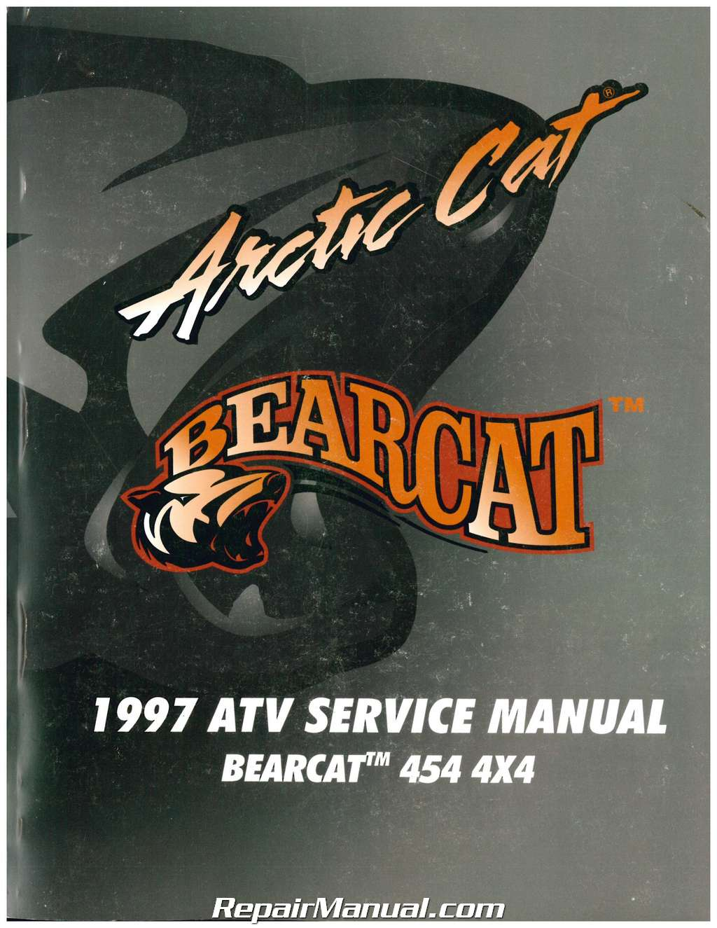 1997 Arctic Cat Bearcat 454 4 U00d74 Atv Service Manual