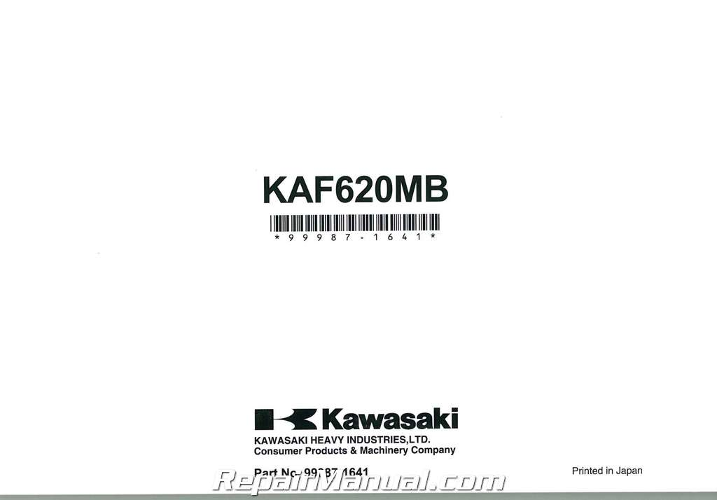 2011 kawasaki kaf620m mule 4010 4 4 owners manual. Black Bedroom Furniture Sets. Home Design Ideas