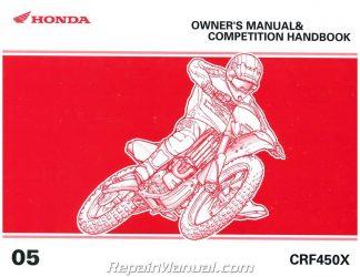 2006 honda crf450x service manual