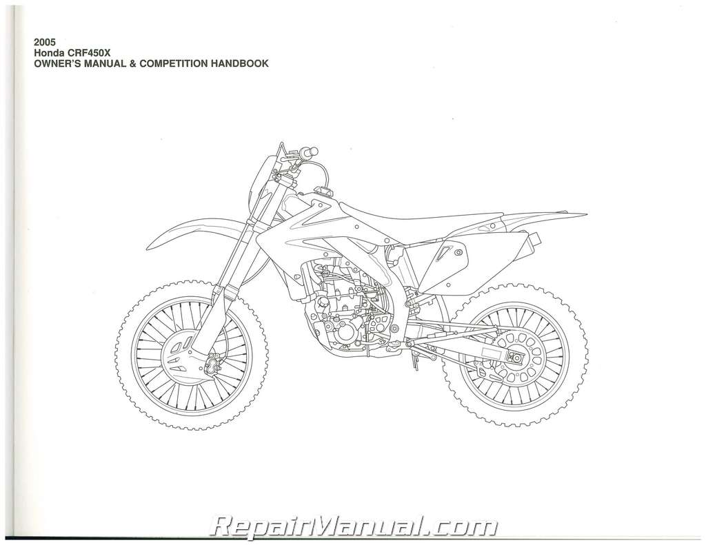 2005 honda crf150f service manual pdf