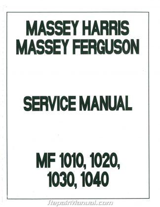 massey ferguson mf1010 mf1020 mf1030 mf1035 mf1040 mf1045 service manual