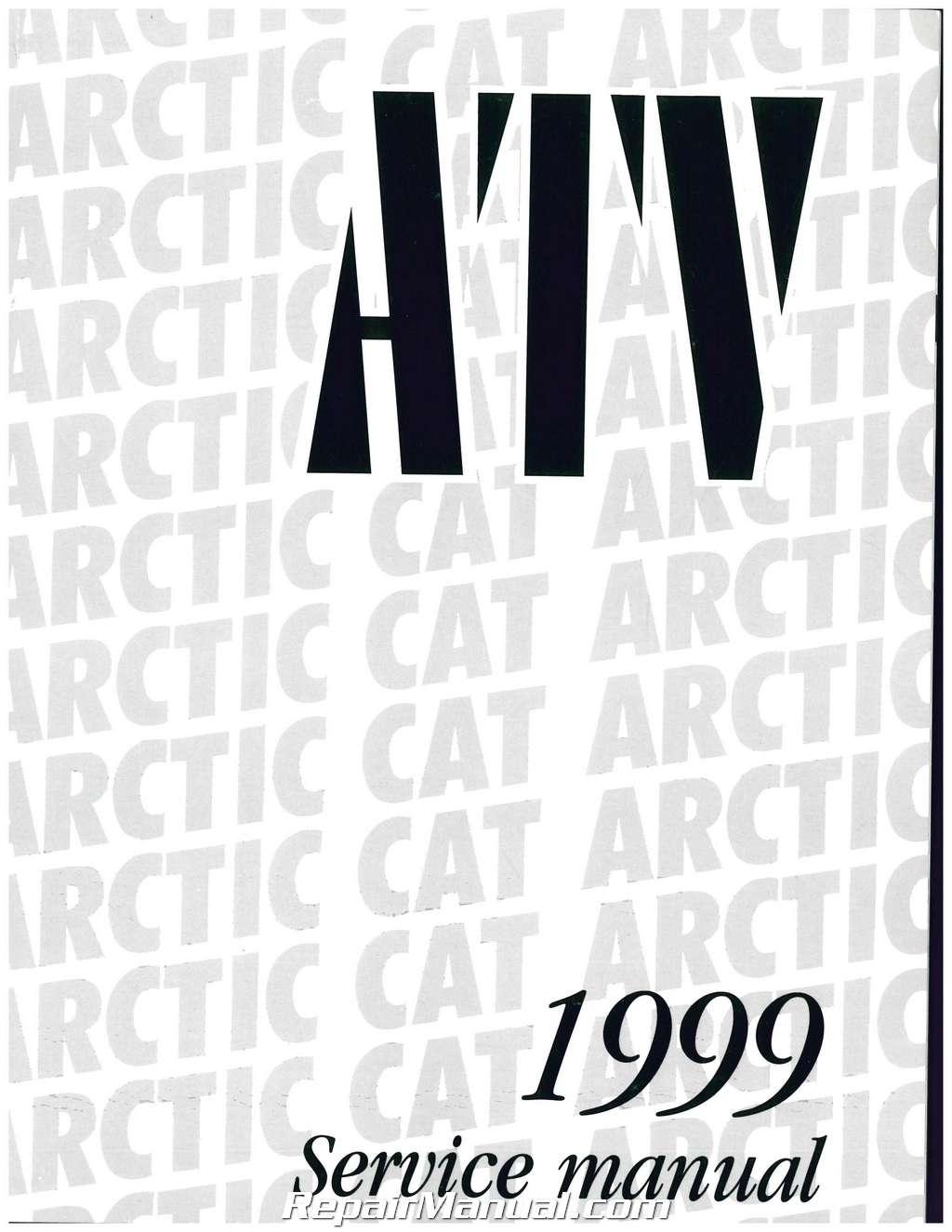 1999 arctic cat 500 4x4  400 4x4  300 4x4  300 2x4  250