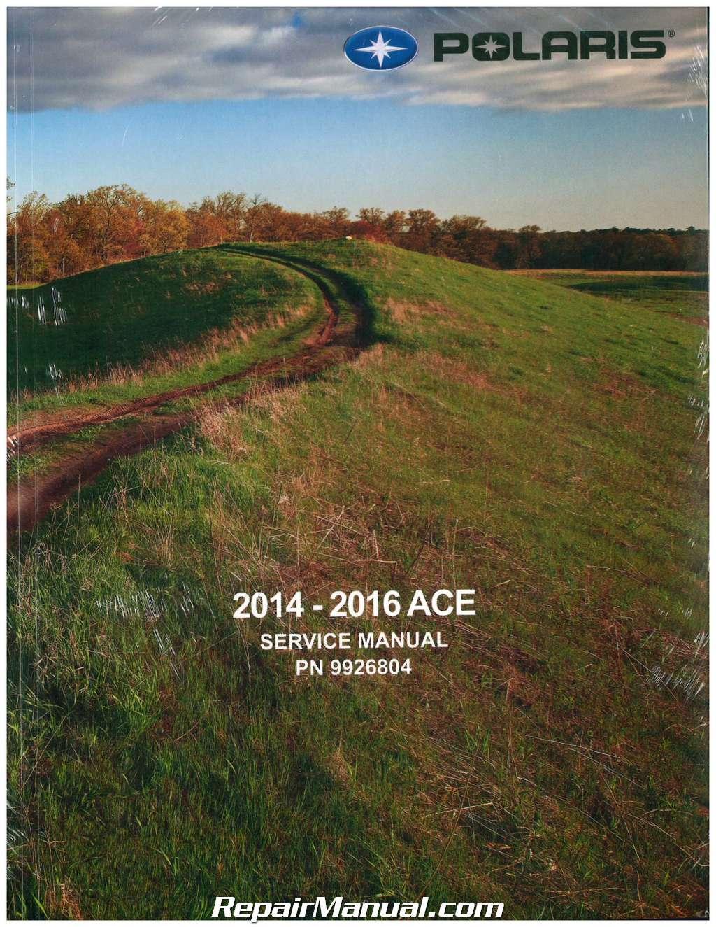 2014 2016 Polaris Sportsman Ace Paper Atv Service Manual Wiring Diagram